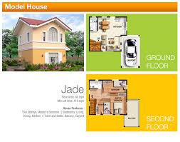 Camella Homes Drina Floor Plan Jewels Series Camella Homes Tarlac