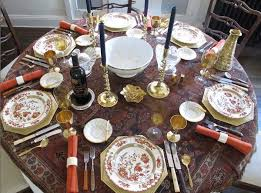 Kitchen Table Setting Ideas 91 Best Thanksgiving Table Images On Pinterest Thanksgiving