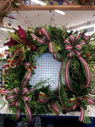 large square lighted wreath by kyong my floral creations