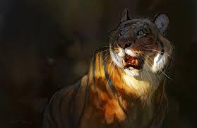 tiger sketch by ailah on deviantart