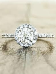 circle engagement ring stunning halo engagement ring ken design