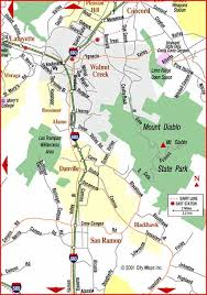 concord california map road map of walnut creek concord walnut creek california