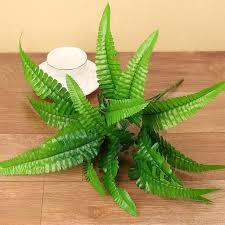 aliexpress com buy 1pc artificial plastic fern plant fake flower