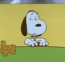snoopy cards snoopy cards gif peanuts dice discover gifs