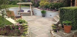 Sunken Patio Yorkshire Garden Designs By Lorna Batchelor