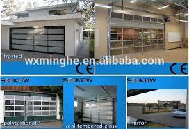 Overhead Door Store Aluminum Garage Glass Door Overhead Glass Garage Door Aluminum