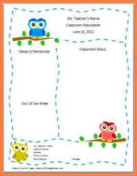 7 free preschool newsletter template microsoft word newsletter