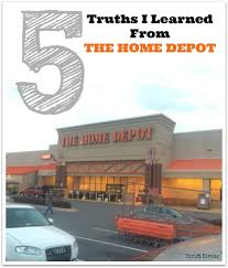 Home Depot Deal Of Day by 5 Truths I Learned From The Home Depot