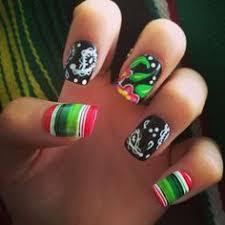 uñas mexicanísimas para estas fiestas patrias weed nails beauty