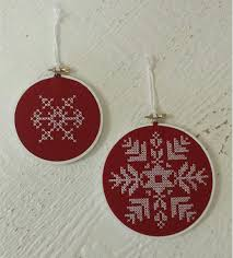 machine embroidery cross stitch ornaments creative machine