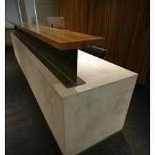 Plywood Reception Desk 191 Best Reception Desks Industrial Reclaimed Images On Pinterest