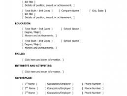 resume templates for word free resume resume template microsoft word basic resume templates