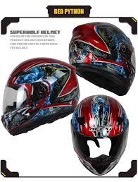 thh motocross helmet nenki mens motorcycle helmets skull printing full face riding