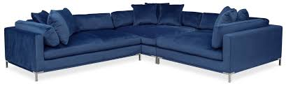 Value City Furniture Sofas by The Moda Collection Blue Value City Furniture