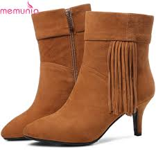 buy black suede boots fringe and get free shipping on aliexpress com