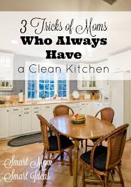 3 simple tricks of who always a clean kitchen cleaning