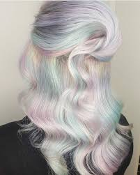 beauty fantasy unicorn purple violet red cherry pink bright hair