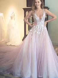 prom and wedding dresses buy gorgeous a line scoop wedding dress dress with appliques