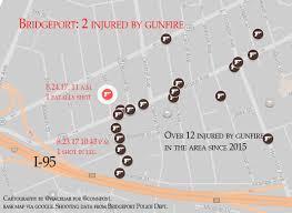 I 95 Map Bridgeport Police Homicide Victim Not The Intended Target