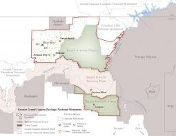 Grand Canyon Arizona Map by Proposal Sparks Monumental Debate At The Grand Canyon Nevada