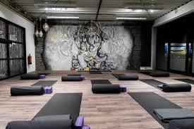 3d mural 3d mural ganesha yoga full of life atelier rust dust