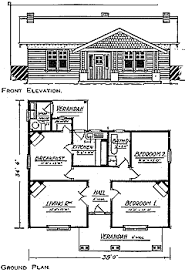 1930s Bungalow Floor Plans 1916 Californian Bungalows