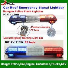 Led Light Bar Police by Dc 12v Factory Price Halogen Police Light Bar Flash Warning Led