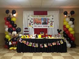 Mickey Mouse Table by Liam U0027s Mickey Mouse 1st Birthday Favors U0026 More Llc