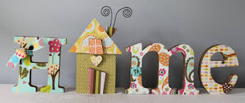 home decor letters with my own taste in paper to cover it with this will be adorable