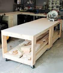 49 Free Diy Workbench Plans U0026 Ideas To Kickstart Your Woodworking by This Workbench Is An Easy Build And Makes For A Super Sturdy