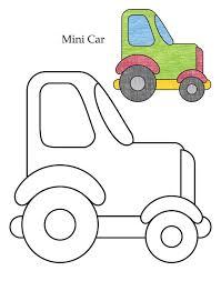 0 level mini car coloring download free 0 level mini car