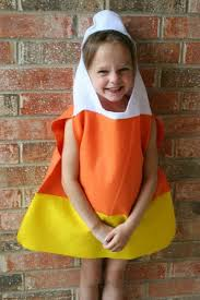Candy Corn Halloween Costume Quirky Handmade Halloween Costumes Kids Craftfoxes