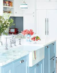Light Blue Kitchen Cabinets by Light Blue Kitchen Cabinets Home Decor Gallery