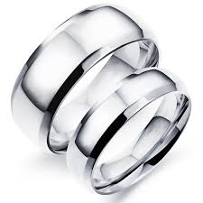 mens stainless steel wedding bands high quality plain rings stainless steel ring classical