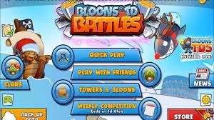 bloons td battles apk bloons td battles mod apk free