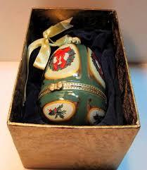 mr porcelain musical ornament egg