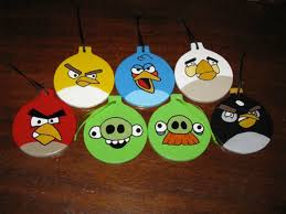 angry birds ornament make for a thrilling decor livbit