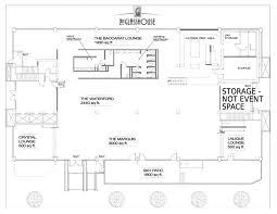 Glass House Floor Plans Venue The Glass House
