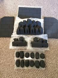 genuine valor gas fire model 940 coal u0026 walls set pack part