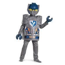 Lego Ninjago Halloween Costumes Lego Boys Nexo Knights Clay Deluxe Halloween Costume Child Size