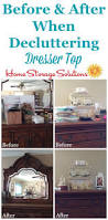 How To Organize Clothes Without A Dresser by How To Declutter Your Dresser Top