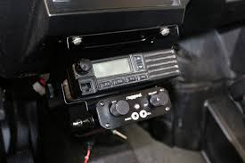 Rugged Ham Radio Below Dash Intercom And Radio Bracket For Rzr Xp1000 Rzr Mt Xp1