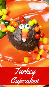 Thanksgiving Dessert Table Ideas by Turkey Cupcakes A Kid Friendly Thanksgiving Dessert