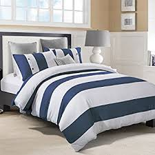 Nautical Bed Set Superior 100 Cotton Duvet Cover Set With 2
