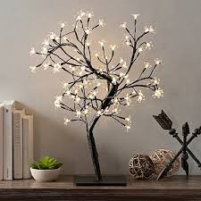 Lighted Branches Pre Lit Branches Set Of 5 Kirklands
