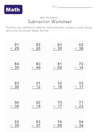 subtraction subtraction worksheets with ten frames free math