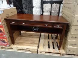 furniture home bayside furnishings belmar writing desk costco