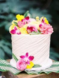 hawaiian garden wedding inspiration ruffled