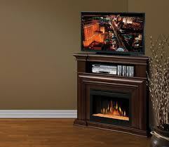Entertainment Center With Electric Fireplace Extraordinary Corner Electric Fireplace Entertainment Center Of
