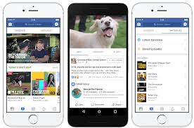 facebook launches watch tab of original video shows techcrunch